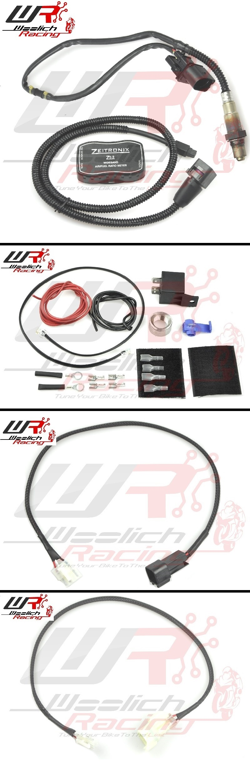 2010-2013 Kawasaki Z1000 Log Box (Denso) v3 + Zeitronix ZT-3 Wideband O2 Package