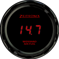 Zeitronix ZR-3 AFR Gauge -LED rouge